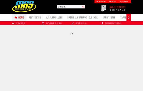 Vorschau von www.mas-motorrad.de, MAS Motorradzubehör GmbH