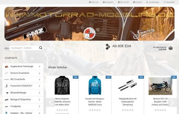 Vorschau von www.motorrad-moegling.de, Motorrad Mögling