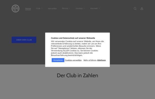 Vorschau von www.mthc.de, Marienthaler Tennis und Hockey Club e.V. gegr. 1900