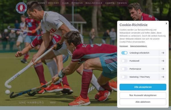 Vorschau von www.uhc.de, Uhlenhorster Hockey Club e.V.