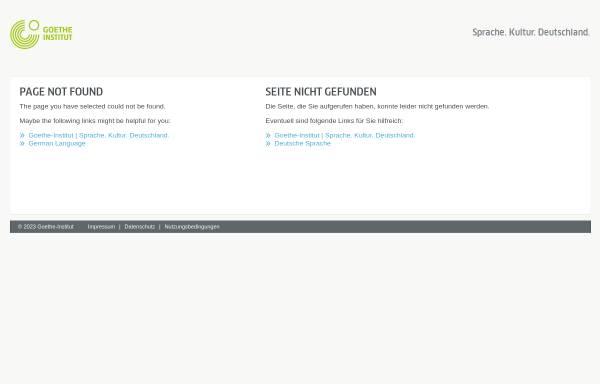 Vorschau von www.goethe.de, Theresia Walser im Goethe-Institut