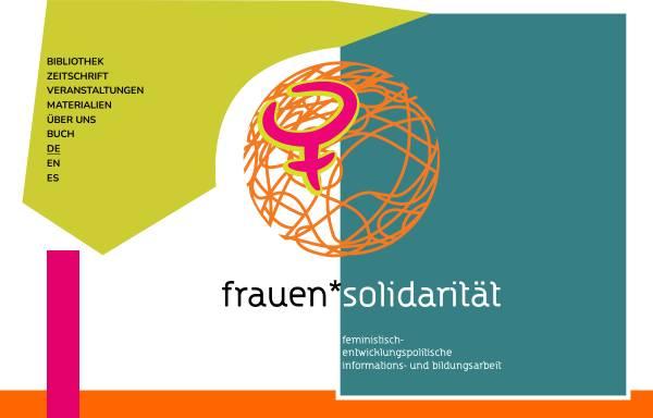 Vorschau von www.frauensolidaritaet.org, Frauensolidarität