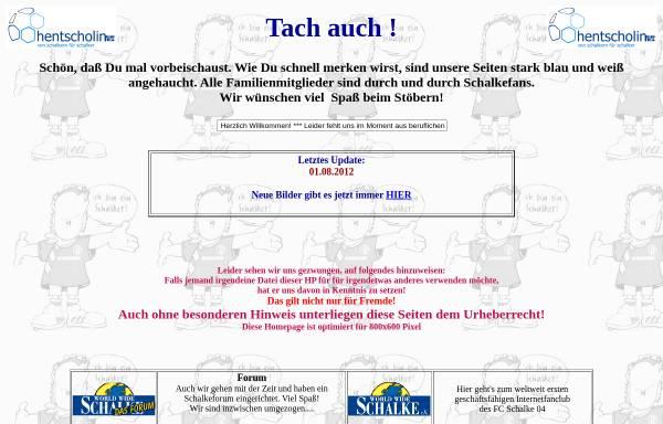 Vorschau von www.hentscholin.de, Hentscholin