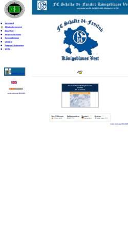 Vorschau der mobilen Webseite koenigsblaues-vest.de, Königblaues Vest