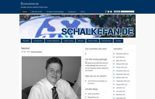 Vorschau von www.schalkefan.de, Schalkefan.de