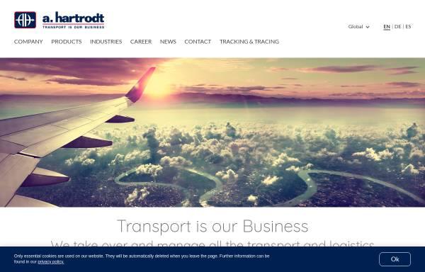 Vorschau von www.hartrodt.com, A. Hartrodt GmbH & Co