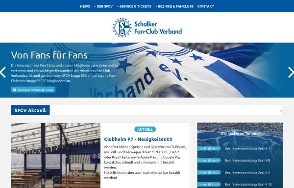 Vorschau von www.sfcv.de, SFCV Fanbetreuung GmbH