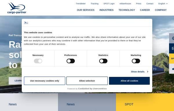 Vorschau von www.cargo-partner.com, Cargo Partner AG