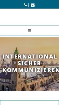 Vorschau der mobilen Webseite fix-services.com, Fix International Services GmbH & Co. KG