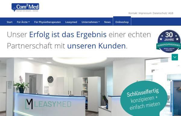 Vorschau von www.leomed.de, Horst Leonhardt Medizintechnik, Inh. Geert Kauenhowen e.K.