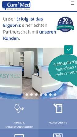 Vorschau der mobilen Webseite www.leomed.de, Horst Leonhardt Medizintechnik, Inh. Geert Kauenhowen e.K.