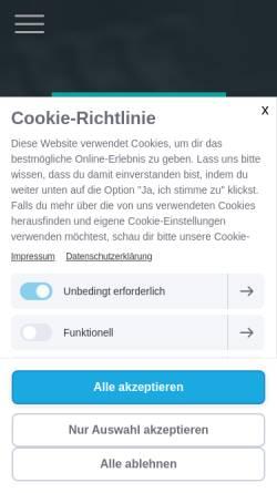 Vorschau der mobilen Webseite www.laboklinika.de, Laboklinika-Vertriebsgesellschaft