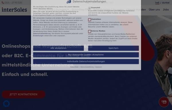 Vorschau von www.medisales.de, MediSales - InterSales AG Internet Commerce