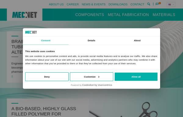Vorschau von www.medneteurope.com, MedNet GmbH