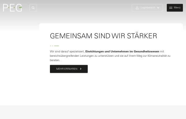 Vorschau von www.peg-einkauf.de, PEG Einkaufs- und Betriebsgenossenschaft eG