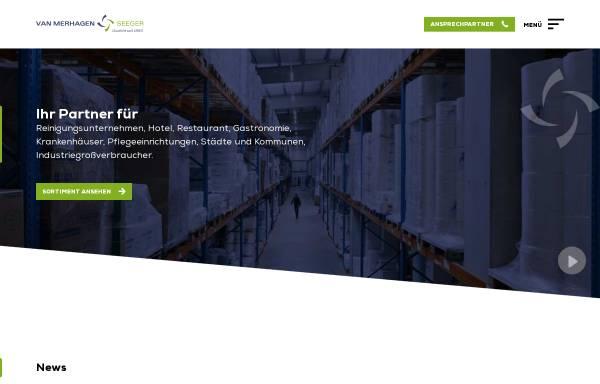 Vorschau von www.merhagen.de, Van Merhagen & Seeger GmbH