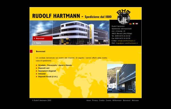 Vorschau von www.rudolfhartmann.it, Rudolf Hartmann KG