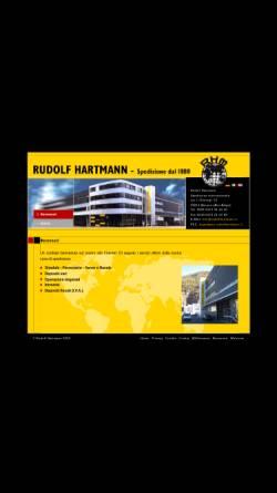 Vorschau der mobilen Webseite www.rudolfhartmann.it, Rudolf Hartmann KG