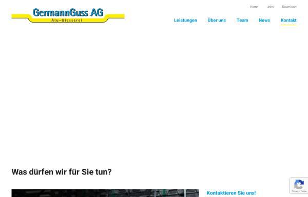 Vorschau von www.germannguss.ch, GermannGuss AG