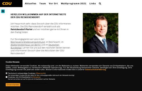 Vorschau von www.cdu-reinickendorf.de, CDU Reinickendorf