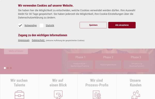 Vorschau von www.prosystemsit.de, Prosystems IT GmbH