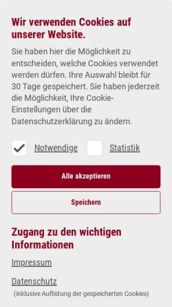 Vorschau der mobilen Webseite www.prosystemsit.de, Prosystems IT GmbH