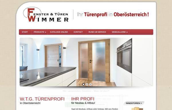 Vorschau von www.tueren-wimmer.at, Türen Wimmer