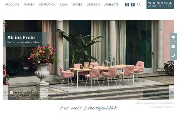 Vorschau von www.wohndesign-maierhofer.at, Wohndesign Maierhofer