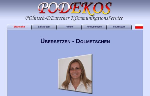 Vorschau von www.podekos.de, Daria Käbisch