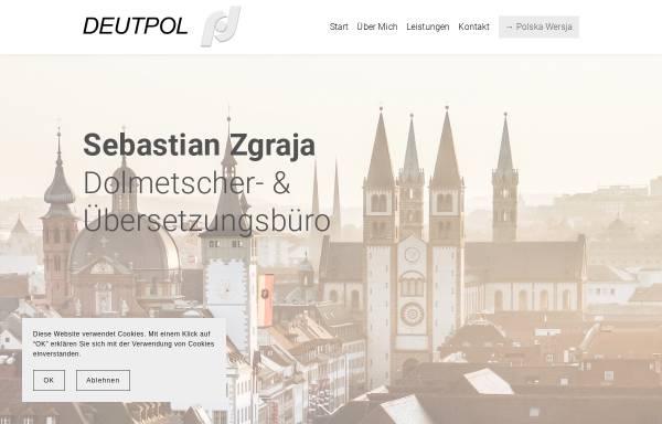 Vorschau von www.deutpol.de, Deutpol - Dipl.-Theol. Sebastian Zgraja
