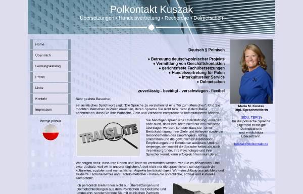 Vorschau von www.polkontakt.de, Polkontakt Kuszak