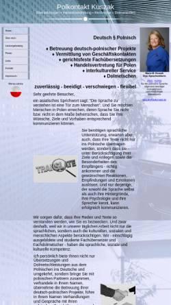 Vorschau der mobilen Webseite www.polkontakt.de, Polkontakt Kuszak
