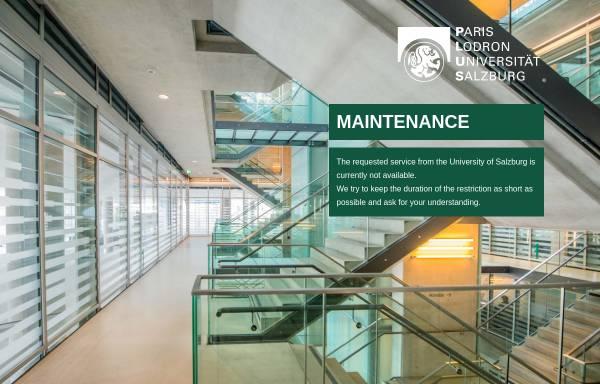 Vorschau von www.sbg.ac.at, Dialog der Erkenntniskulturen