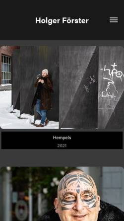 Vorschau der mobilen Webseite foerster-preetz.de, Förster, Holger