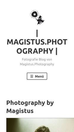 Vorschau der mobilen Webseite blog.magistus.de, Locher, Marcus