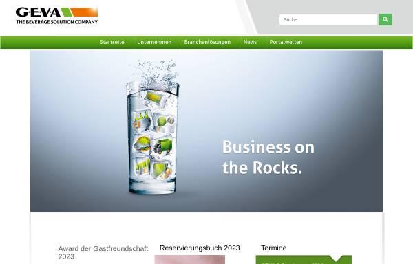 GEVA Gesellschaft für Einkauf, Verkaufsförderung und Absatz von ...