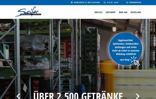 Seifer Getränkefachgroßhandlung GmbH in Gescher: Getränke, Nahrungs ...