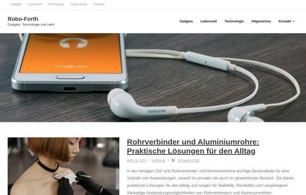 Vorschau von www.robo-forth.de, Roboter steuern mit Forth