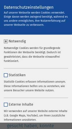 Vorschau der mobilen Webseite www.ameos.de, Klinik Dr. Heines