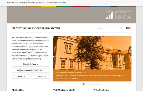 Vorschau von www.stsg.de, Stiftung Sächsische Gedenkstätten