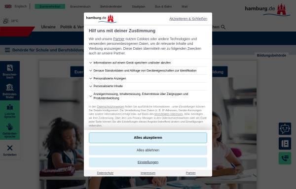 Vorschau von www.hamburg.de, Amt für Schule