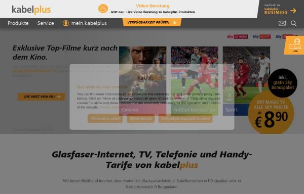 Vorschau von www.kabsi.at, kabelsignal AG
