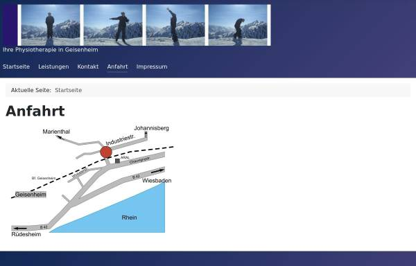 Vorschau von www.die-physiotherapie.cc, Die Physiotherapie | Inh. Julia Meyer-Grünow