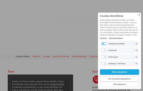 Vorschau von www.svfides.ch, SV Fides