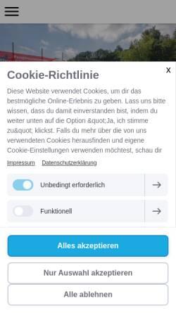 Vorschau der mobilen Webseite www.svfides.ch, SV Fides