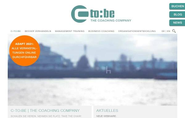 Vorschau von www.c-to-be.de, C-to:be - The Coaching Company