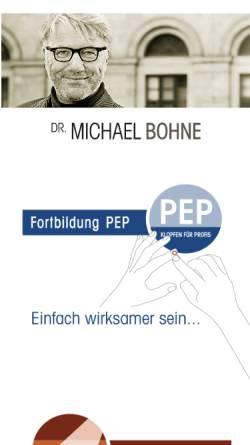 Vorschau der mobilen Webseite www.dr-michael-bohne.de, Dr. Michael Bohne - Auftritts-Coaching
