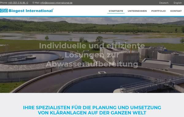 Vorschau von www.biogest-international.de, Biogest International GmbH