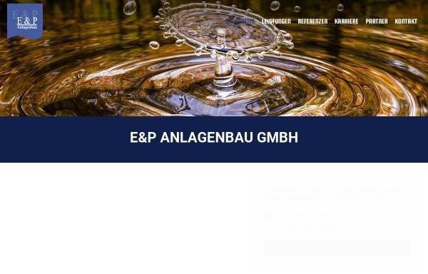 Vorschau von www.ep-anlagenbau.de, E & P Anlagenbau GmbH