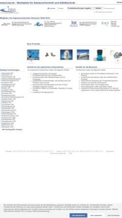 Vorschau der mobilen Webseite www.ivaa.de, IVAA Abwasserforum